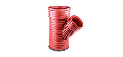 Тройник 45° Pragma для канализационных труб