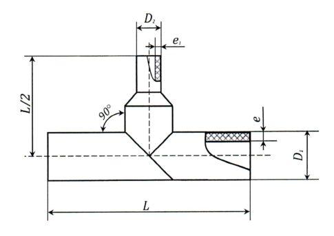 редукционный тройник ПЭ100 SDR 11, 17