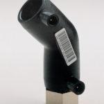 Отвод 45° ПЭ/латунь электросварной с внутренней резьбой - 110x4 - 7-4 - 45 - 2168160110