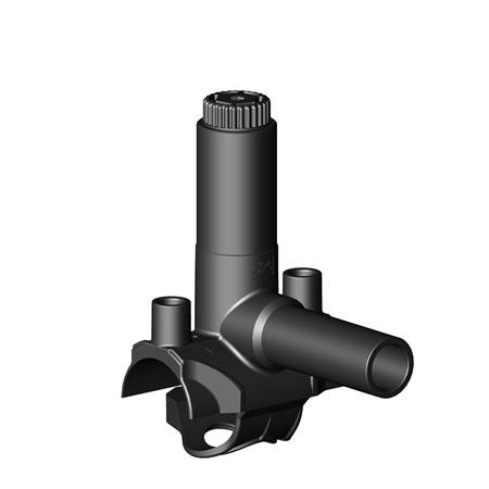 Седелка электросварная с фрезой SDR 11 - PN 16 для труб диаметром 40 мм